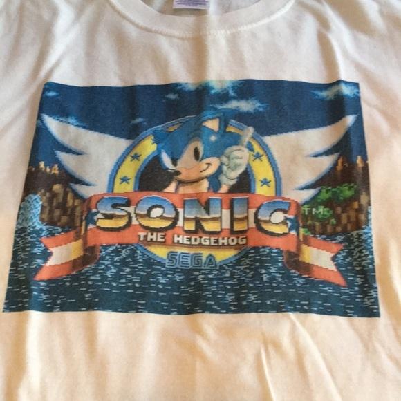Vintage Shirts Sonic The Hedgehog Tshirt Poshmark